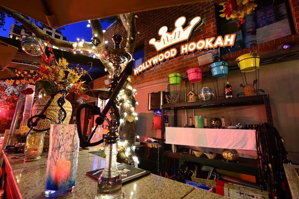 Hollywood Hookah Interior